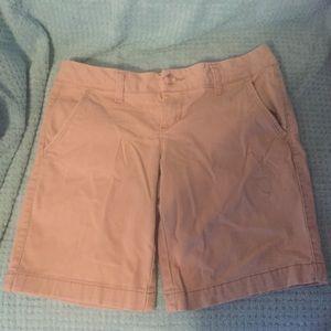 2/$10 Aeropostale Bermuda Twill Shorts Size 0